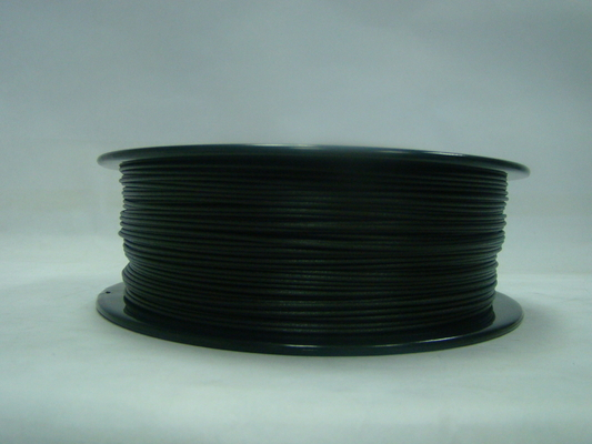 China fibra do PETG-carbono da impressora 3D altura Thoughness do preto do filamento de 1.75MM/de 3.0MM fornecedor