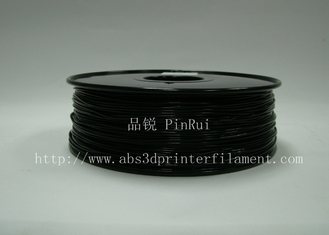 China Nylon preto material do filamento de 1.75mm/de 3.0mm de 3D que imprime MakerBot fornecedor